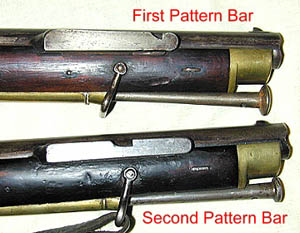 Bayonet bar