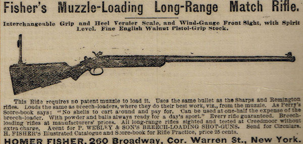 Fisher's muzzle-loader