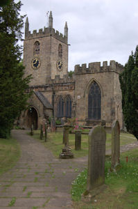 St Helen's church, Darley Dale