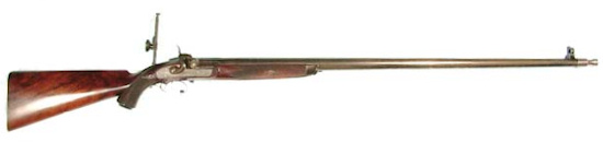 Original match rifle by Charles Ingram of Glasgow