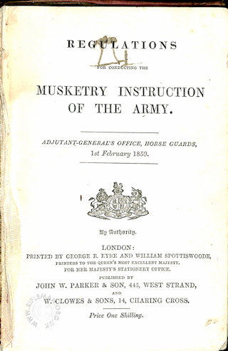 Musketry Instruction 1859