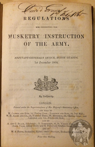 Musketry Instruction 1864