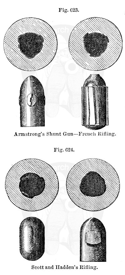 Armstrong, French, Scott and Hadden rifling